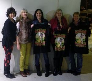 Brenda, Margie, Shelly, Me, Jan.